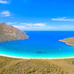 Winneglass Bay y el Parque Nacional Freycinet en Tasmania