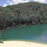 El Lago Wabby en Fraser Island