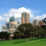 The Domain, ocio al aire libre en Sidney