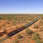 The Ghan, el tren australiano más famoso