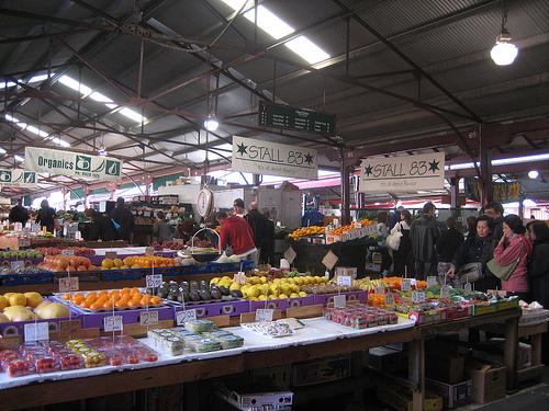 Mercado Queen Victoria Market de Melbourne