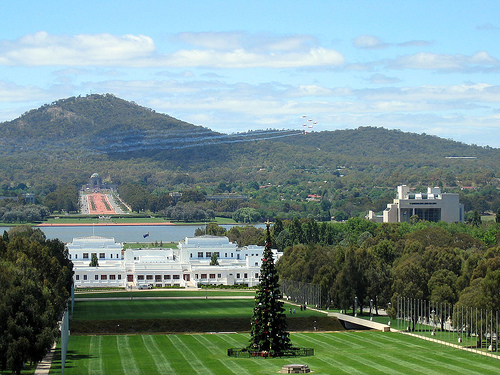 Canberra, la capital de Australia