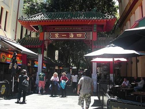 El barrio de Chinatown de Sidney