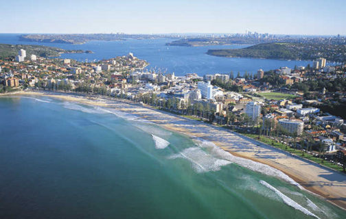 La Manly Beach de Sidney