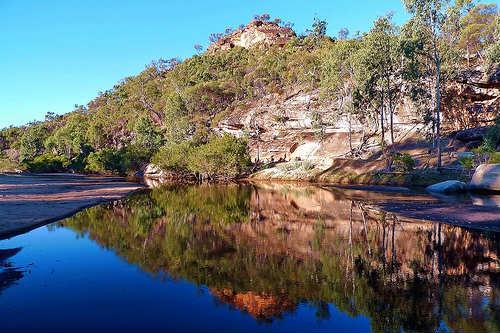 Parque Nacional Montañas Blancas en Queensland