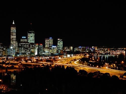 La noche en Australia