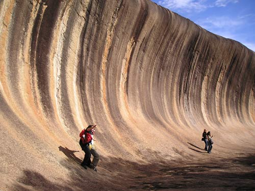 Wave Rock, accidente geográfico en Australia
