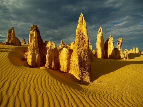 Desierto de los Pináculos, cerca de Cervantes
