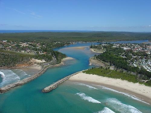 Evans Head, un sitio tranquilo en Australia