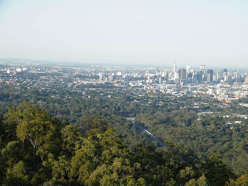 Brisbane desde el Coot-tha