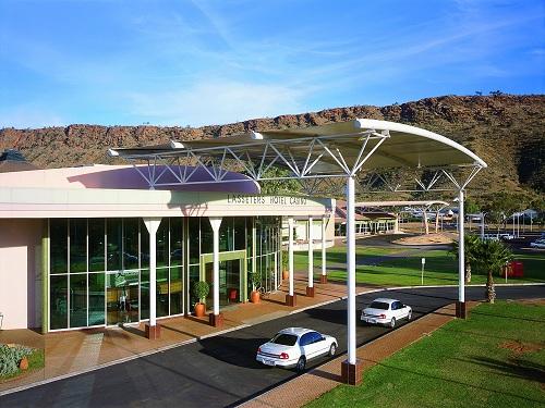 Lasseters Hotel Casino, lujoso hotel en Alice Springs