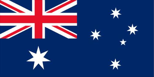 La bandera de Australia