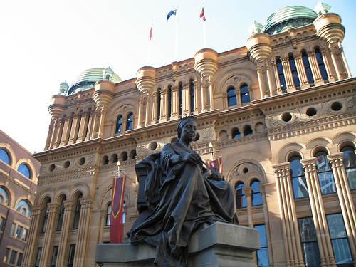 Reina Victoria, histórico centro comercial en Sidney