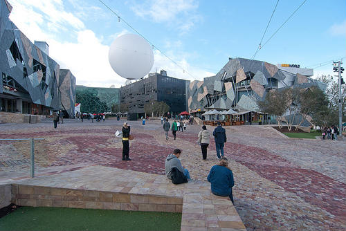 Federation Square, referente urbano de Melbourne