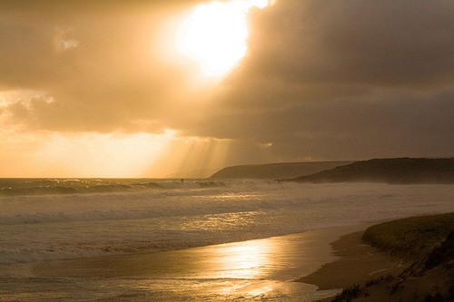 Playas Waitpinga y Parsons, ideales para el surf