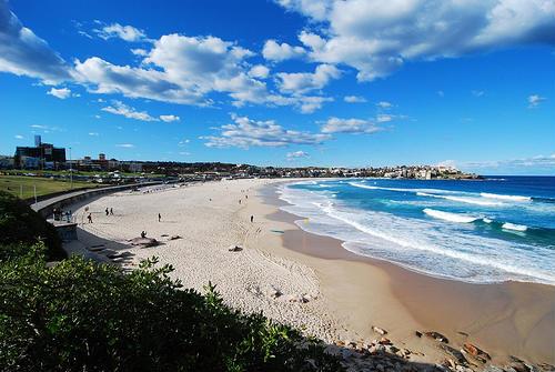 La paradisíaca playa Bondi en Sidney